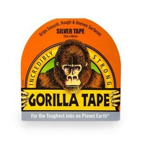 GORILLA Tape ragasztószalag 48 mm x 32 m Silver   GORILLA 3044901