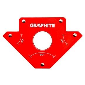 Hegesztő mágnes 180 mm x 112 mm x 15 mm mágneses hegesztő támasz   GRAPHITE 56H901