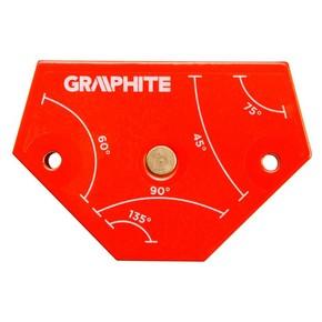 Hegesztő mágnes 175 mm x 110 mm x 16 mm mágneses hegesztő támasz | GRAPHITE 56H904