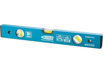 GROSS alumínium vízmérték megerősített, 3 libellával 80 cm   GROSS 33628