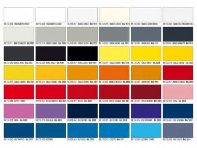 Happy Color akril alapú festék spray 400 ml fényes fekete RAL 9005 | SARATOGA 88150004