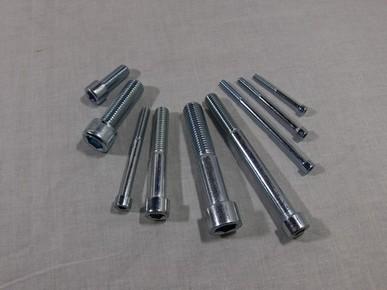 Hengeres fejû, belsõ kulcsnyílású csavar M6 x 20 mm, 8.8 horganyzott DIN 912