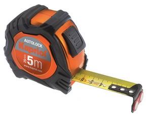 Mérőszalag 5 m x 25 mm Autolock | KAPRIOL 24536