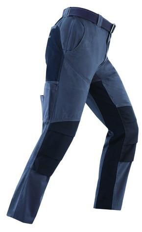 Munkavédelmi nadrág NIGER szürke/fekete M-es | KAPRIOL 31056