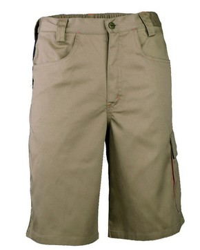 Munkavédelmi rövidnadrág KAVIR beige M-es | KAPRIOL 31590