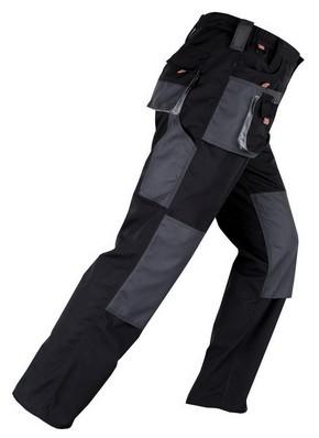 Munkavédelmi nadrág SMART fekete/szürke XXL-es | KAPRIOL 31708