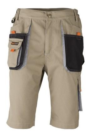 Munkavédelmi rövidnadrág SMART beige XXL-es | KAPRIOL 31768