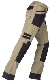 Munkavédelmi nadrág ACTIVE bézs/fekete XXL-es | KAPRIOL 31831