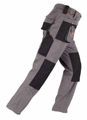 Munkavédelmi nadrág SMART szürke/fekete XXL-es | KAPRIOL 31919