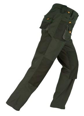Munkavédelmi nadrág SMART zöld XL-es | KAPRIOL 31925