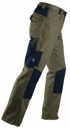 Munkavédelmi nadrág KAVIR barna/fekete XL-es | KAPRIOL 32022