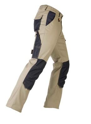 Munkavédelmi nadrág TENERE PRO bézs/kék XXXL-es | KAPRIOL 32386