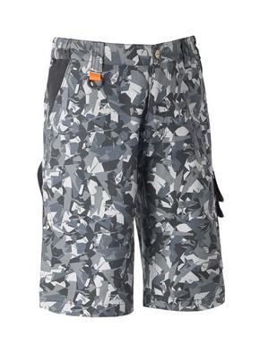 Munkavédelmi rövidnadrág TENERE PRO szürke terepszínű XL-es | KAPRIOL 32530