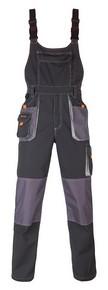 Munkavédelmi nadrág kantáros SMART szürke M-es | KAPRIOL 32879