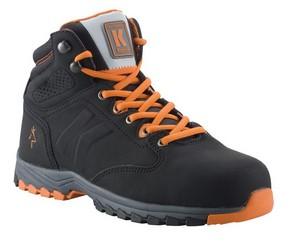 Munkavédelmi bakancs SPENCER narancs/fekete 40-es   KAPRIOL 41970