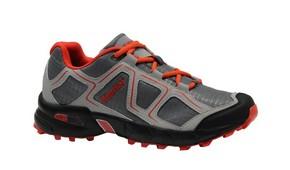 Cipő CROSS szürke/piros 41-es   KAPRIOL 42941
