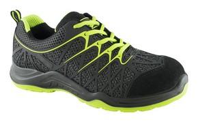 Munkavédelmi cipő SPIDER fekete/sárga S1-P-SRC 40-ös | KAPRIOL 43290