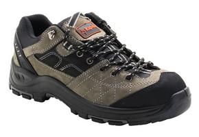 Munkavédelmi cipő DAKOTA szürke/fekete S3-HRO-SRA 46-os | KAPRIOL 43416