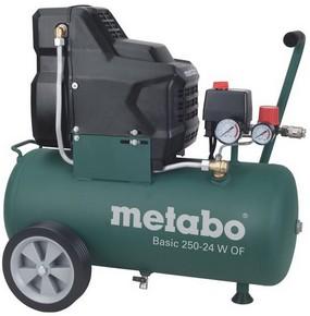 METABO Basic 250-24W OF kompresszor 8 bar 1,5kW olajmentes | METABO 601532000