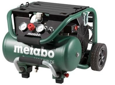 METABO Power 400-20 W OF Silent kompresszor hordozható, olajmentes | METABO 601546000