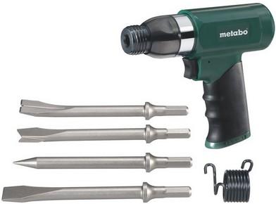 METABO DMH 30 sűrített levegős vésőkalapács + 4db véső   METABO 604115500