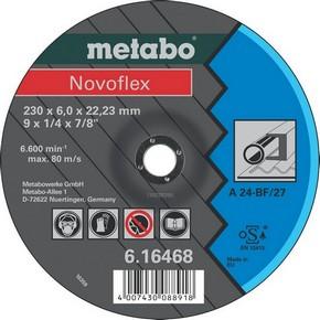 Vágótárcsa, vágókorong Novoflex 150 mm x 6,0 mm x 22,2 mm acél   METABO 616464000