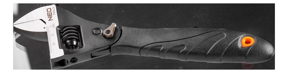 Állítható csavarkulcs fordítható 200 mm   NEO 03-017