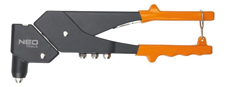 Popszegecshúzó forgatható fejjel 2,4 mm - 5,0 mm | NEO 18-102