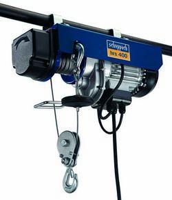SCHEPPACH HRS 400 elektromos drótköteles csörlő-emelő | SCHEPPACH 4906905000