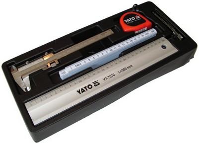 Mérõeszköz készlet 5 részes fiókbetét  | YATO YT-55474